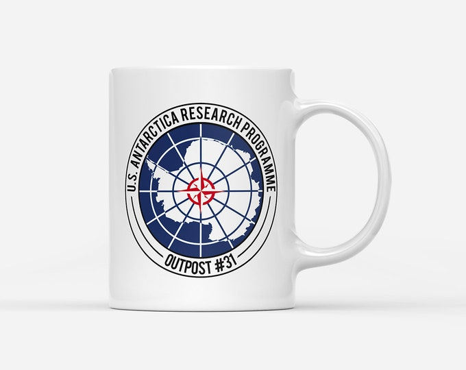 Not Just Nerds Outpost 31 Antarctica Research Mug