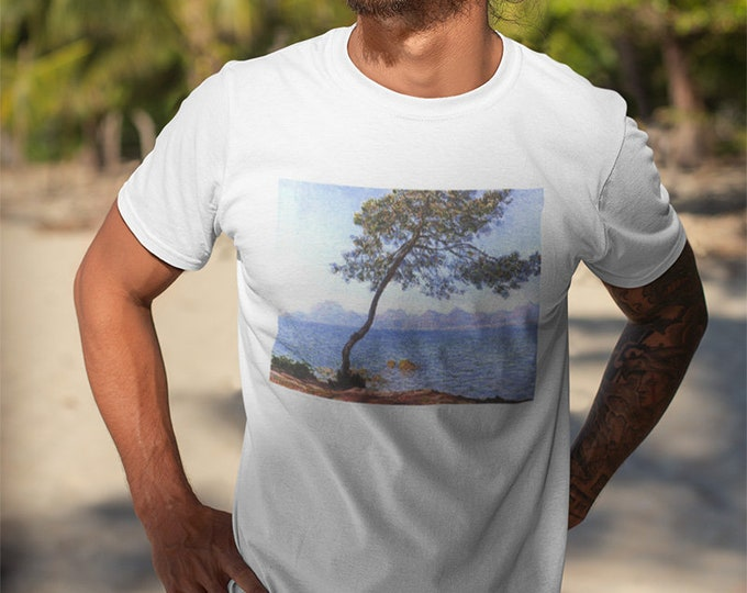 Claude Monet Cap de Antibes Fine Art Mens T-Shirt