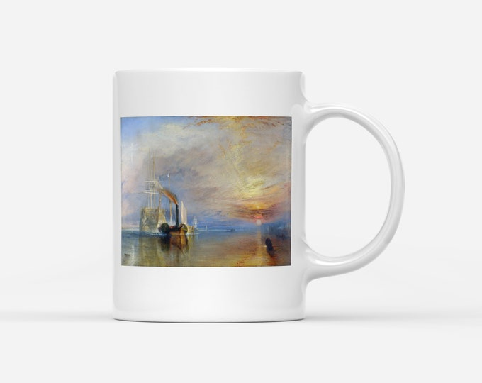 J.M.W. Turner The Fighting Temeraire Fine Art Mug