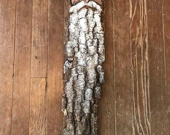 Santa   Wood Spirit   Natural Bark   Carved Santa   Santa Collection   Christmas Gift
