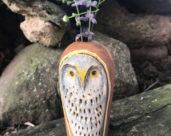 Weed Pot   Owl Collector   Dry Weed Pot   Wooden Vase   Unique Gift   Birthday Gift   Christmas Gift   Handmade