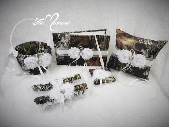 Moosigen Eiche Camo-Hochzeits-Set Hochzeit Blumenmädchen