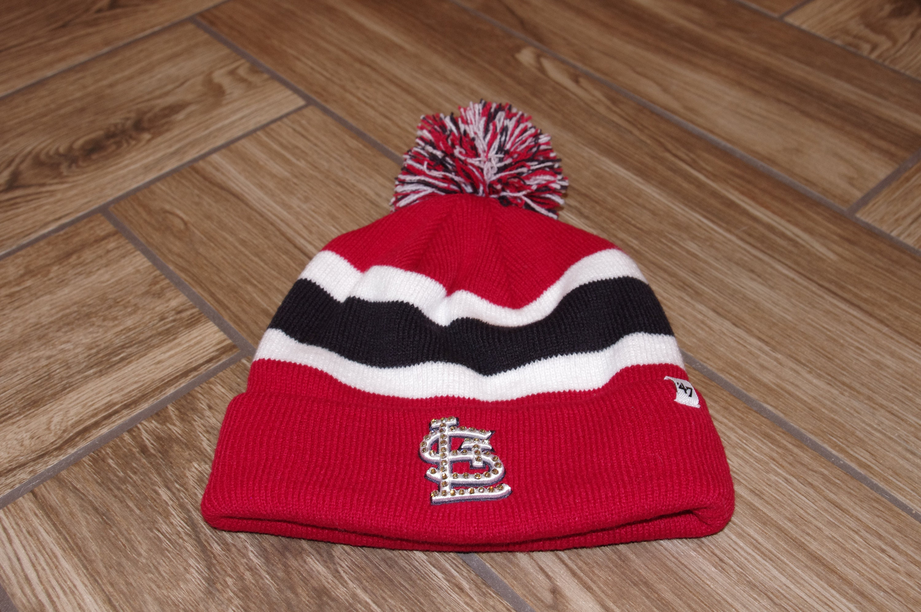 a4f2f36dae388 St. Louis Cardinals Womens knit hat St. Louis Cardinals hat