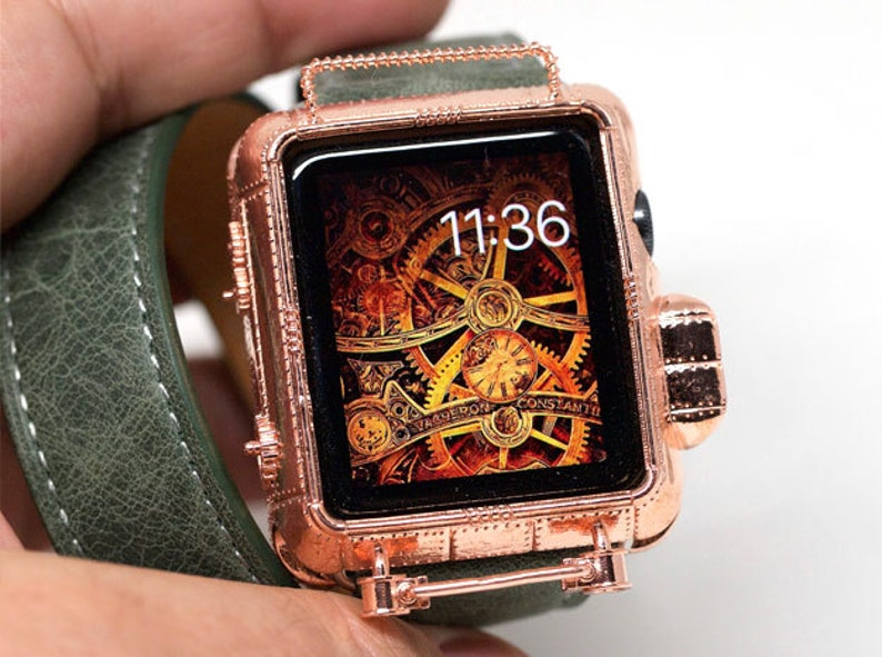 Steampunk Copper 42 Mm Apple Watch Cover Series 0123 Etsy
