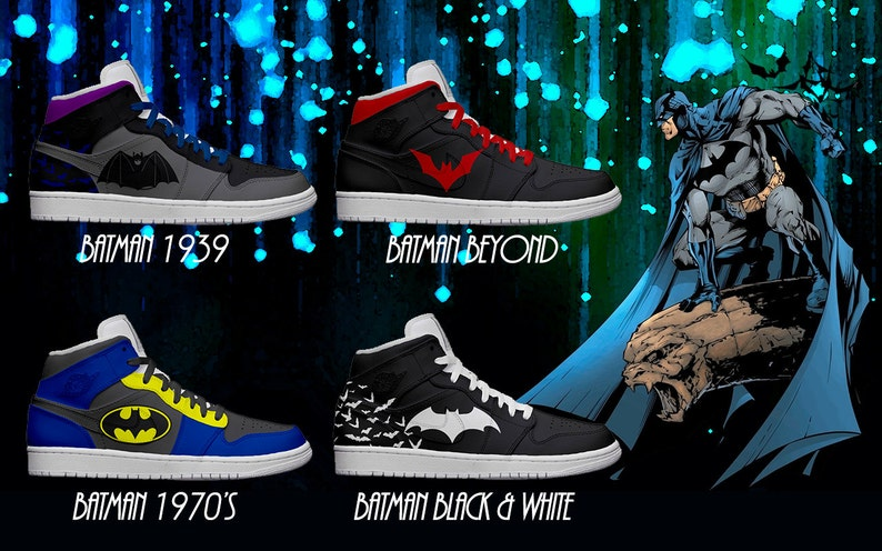 Women s Light Up Batman Shoes  Series 1  313e10aca