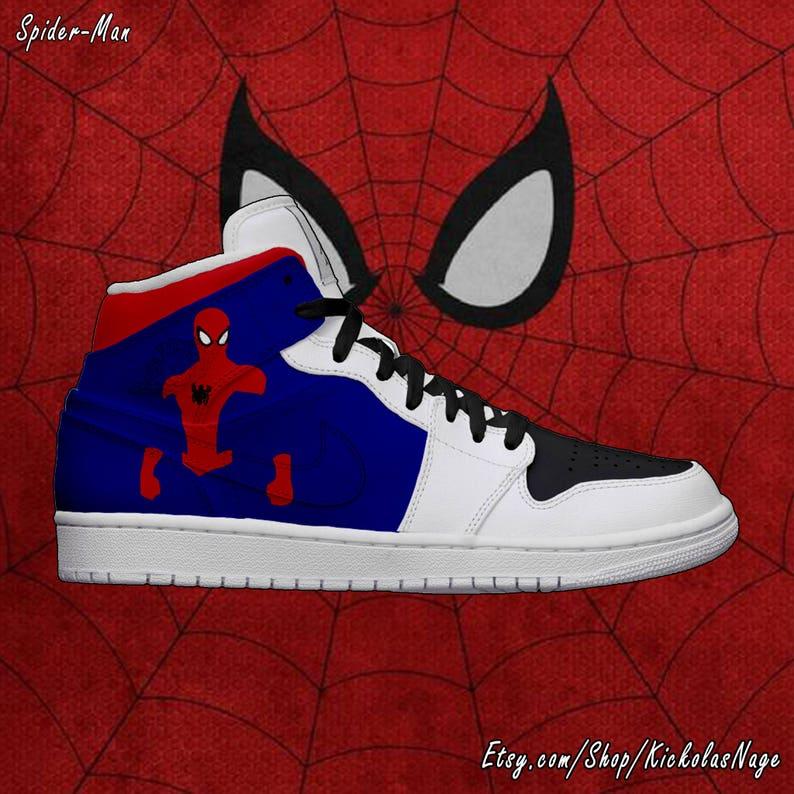 5c0aa23aca1c6 Women's Light Up Spider-Man Shoes