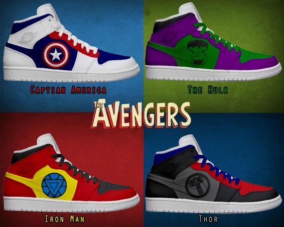 Damen Light Up Avengers Schuhe