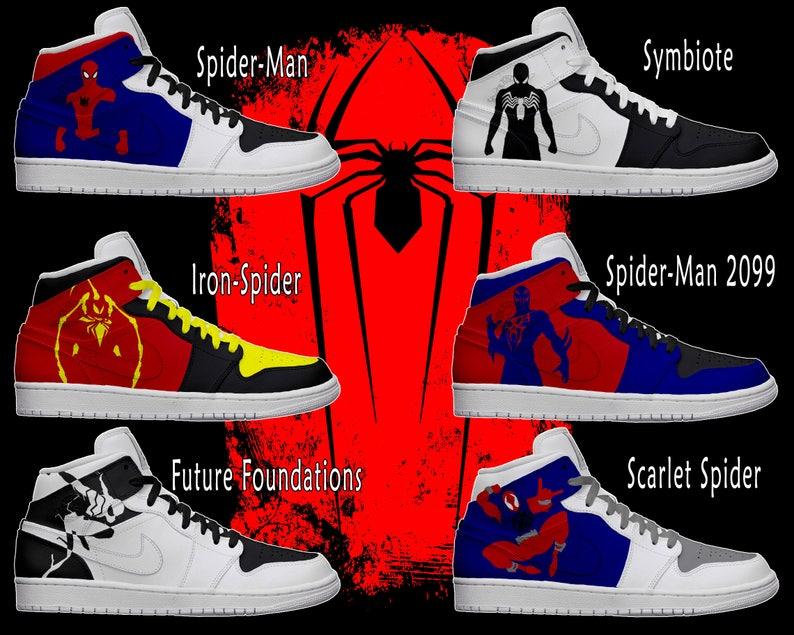 32e1193124e65 Men's Light Up Spider-Man Shoes