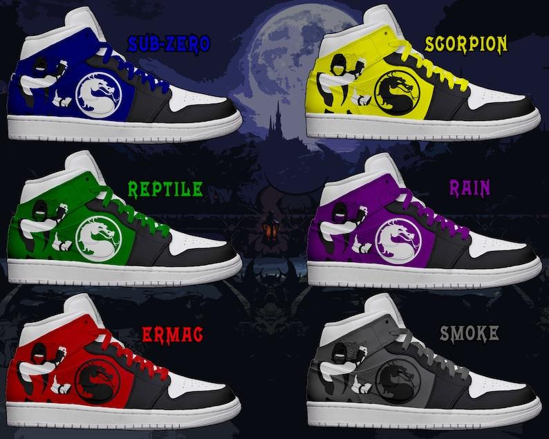 bc40227529b22f Women s Light Up Mortal Kombat Ninja Shoes
