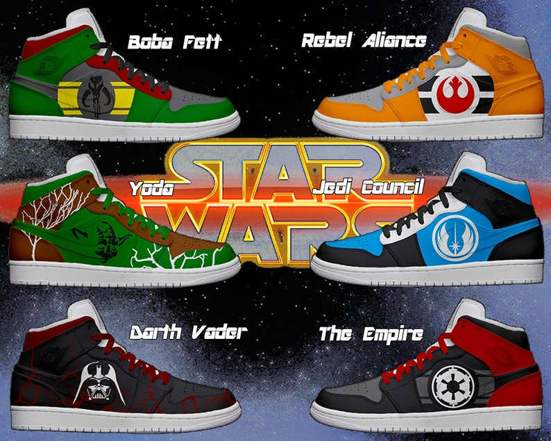 Women's Light Up Star Wars Shoes | Etsy