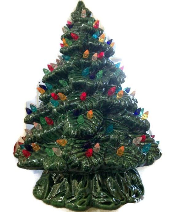 image 0 - Ceramic Christmas Tree Ceramic Tree 15.5 Inches Sierra Etsy