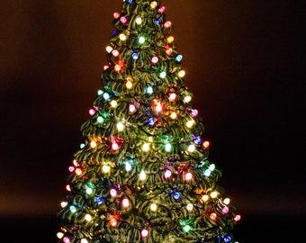 """Ceramic Christmas Tree - Ceramic Tree 18"""" - Large Ceramic Tree -  Ceramic Christmas Tree - Ceramic Tree - X-mas Tree"""