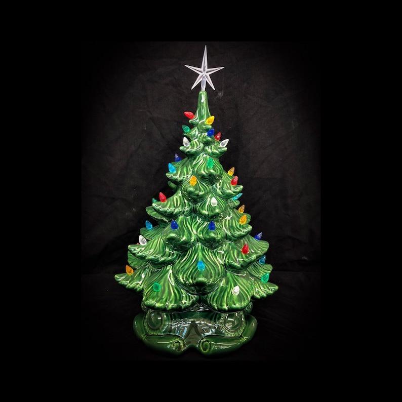 Ceramic Christmas Tree 16  Ceramic Christmas Tree image 1
