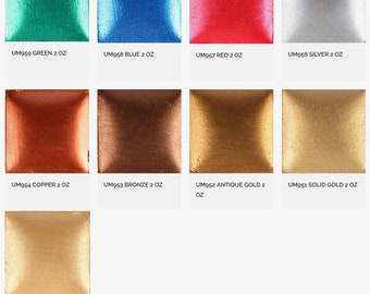 Ultra Metallic Paint - Duncan Acrylic Paint - Craft Paint - Metallic Paint - Sparkle Paint - Ceramic Paint - Acrylic Stain - 2 Ounce bottle