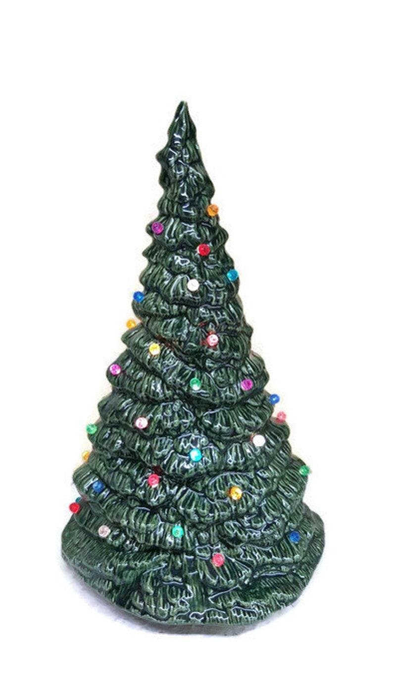 Ceramic Christmas Tree 12 Inch Ceramic Tree Doc Holliday Christmas Tree Glazed Tree Modern Ceramic Christmas Tree