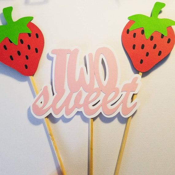Prime Strawberry Cake Topper Berry Sweet Cake Strawberry Smash Cake Funny Birthday Cards Online Elaedamsfinfo