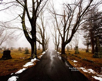 Old Howard Cemetery, Sutton MA 5x7 8x12 Print 12x18 Standout