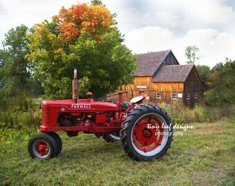 Farmall Tractor at Waters Farm Original Photography