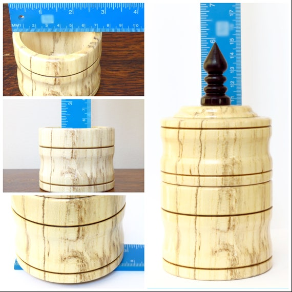 Amazing Lidded Box Spalted Hackberry Wood Exotic African Blackwood Finial 5 8 H X 2 9 W Wooden Trinket Box Wood Box Light Wood Forskolin Free Trial Chair Design Images Forskolin Free Trialorg