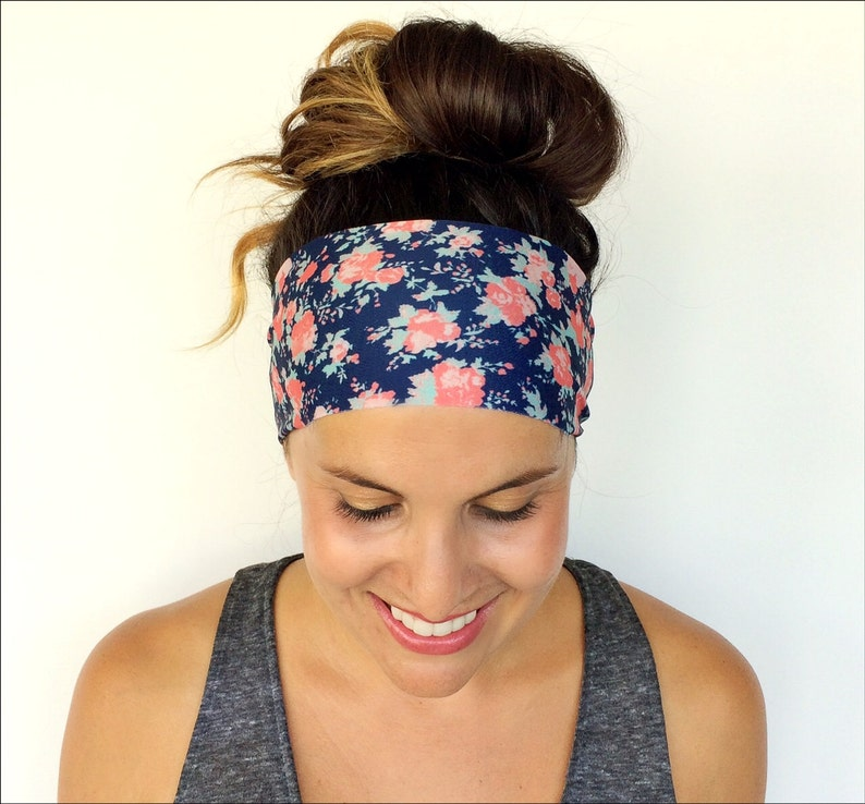 Yoga Headband  Workout Headband  Fitness Headband  Running image 0