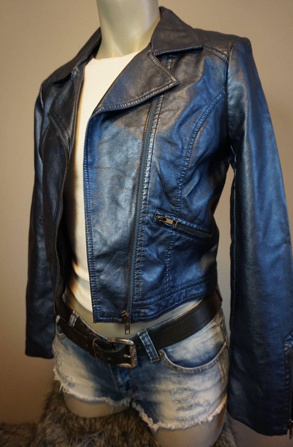 Handpainted Dva Overwatch Vegan Leather Jacket Ooak Etsy Tdr Image 8