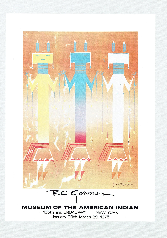R.C. Gorman YEIBECHEI Color 9x13   Etsy