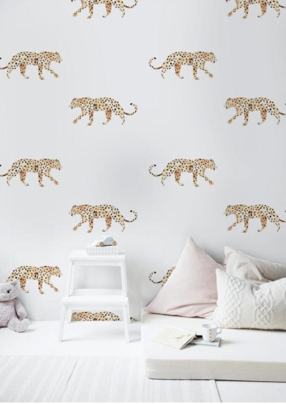 Wallpaper Leopard Unique Design Premium Quality Free Shipping