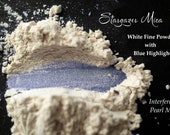 Interference Pearl Pigment, White to Blue Powder, PeIndie Eyeshadow, Nail Polish, Cosmetic Mica Powder, Watercolor Paint, STARGAZER - Blue