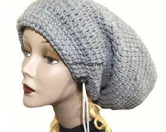 6b62d725fa7db Dreadlock Hat with Locking Drawstring