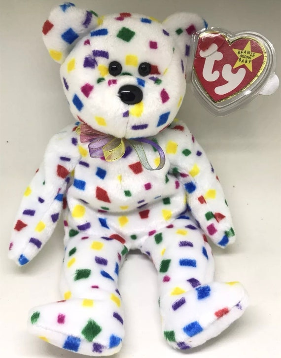 TY Inc. Authentic Beanie Babies ty 2K Bear 2000 with Tag  f4df32c182