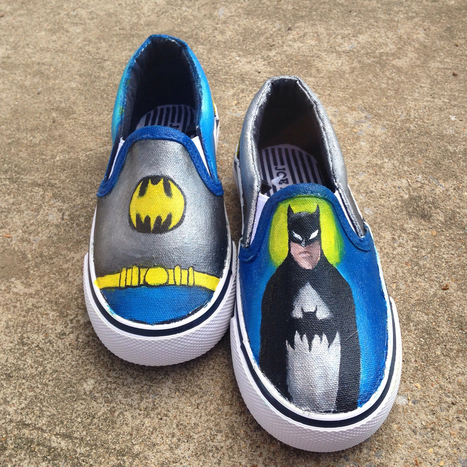 Man's/Woman's - Handpainted Batman Shoes bestseller - bestseller Shoes d64917