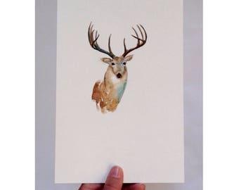 Oh, Deer - (Print)