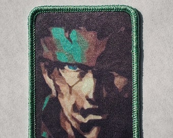 Solid Snake Legendary Soldier Metal Gear Iron on Patch
