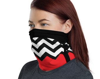Twin Peaks Face Mask Red Room Neck Gaiter