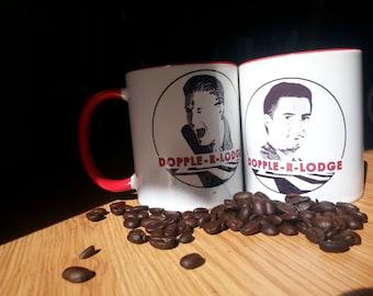 Twin Peaks Doppleganger Double R Coffee Mug from ZanzibarLand