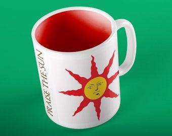 Praise The Sun Solaire Sunlight Coffee Mug from ZanzibarLand