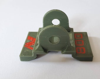 Minelab Equinox 800 Accessories Coil Stiffener Metal Detecting Red Army Ear EQX11 11 Inch