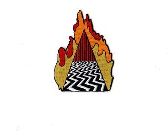 Twin Peaks Patch Dougie Jones Mr Jackpots Good Luck Charm by ZanzibarLand