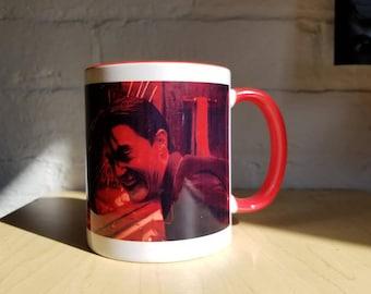 Twin Peaks Coffee Mug Black Lodge Evil Dale Cooper from ZanzibarLand