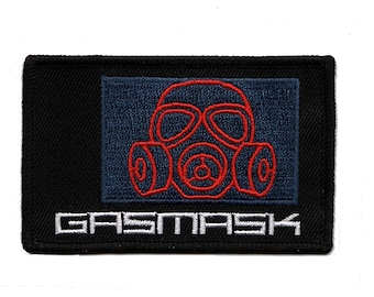 Metal Gear Solid Gas Mask Inventory Item Patch