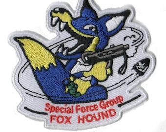Blue FOXHOUND Metal Gear Patch