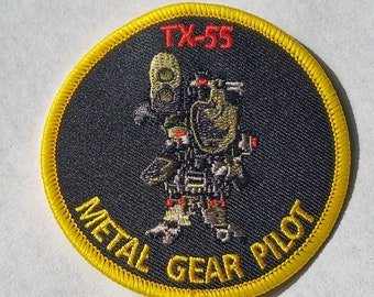Metal Gear TX-55 Pilot Patch for Outer Heaven