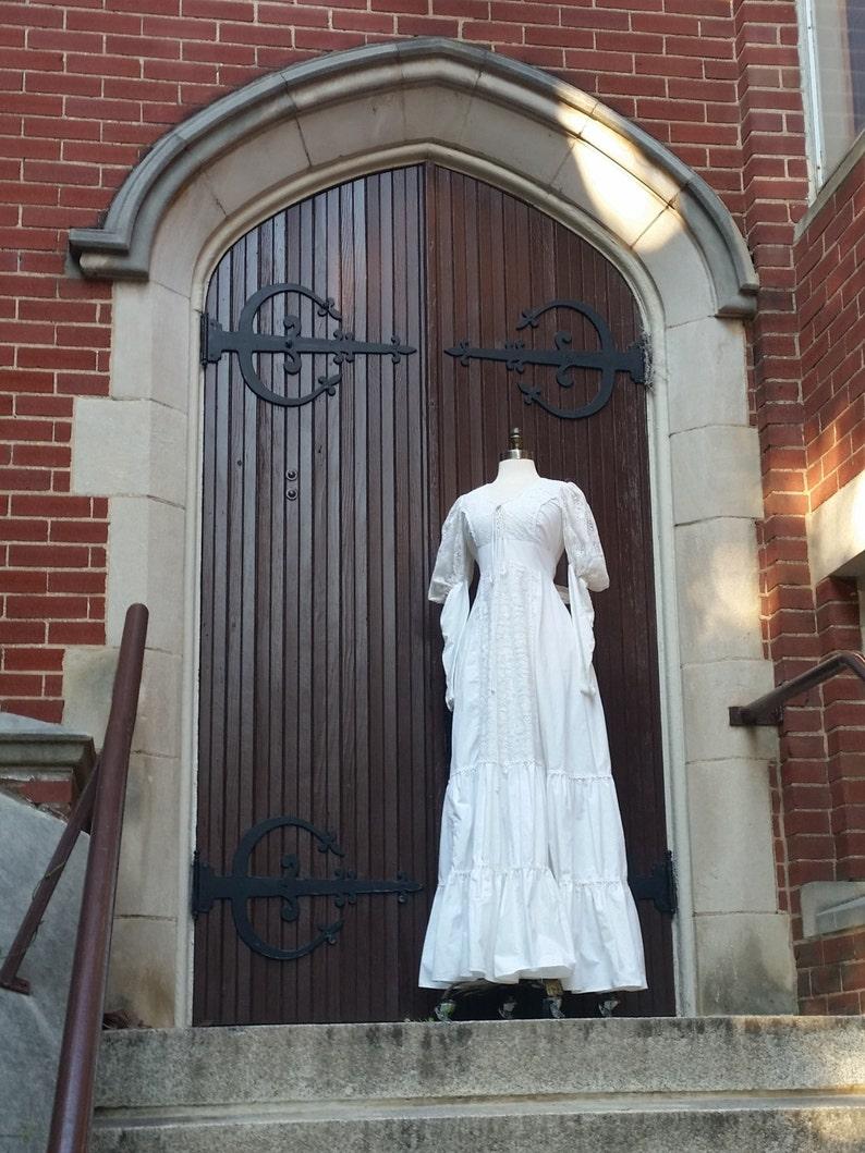 70s Gypsy Dress Gunne Sax Wedding Dress S/M image 0