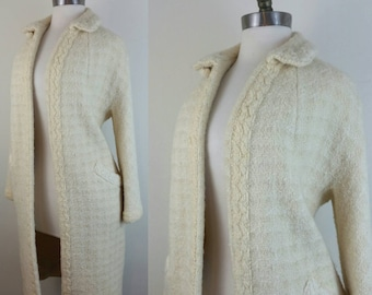 60s Mod Jacket Cream, Lined S/M