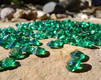 Green diamond | Etsy