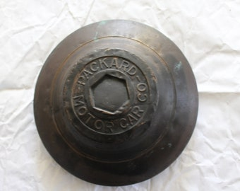 Late 1920s Packard Hubcap  Free Shipping to USA