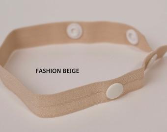 2f976edb2c FASHION 3 pk Soft Elastic pick your COLOR of The Strap Wrap - bra strap  holder