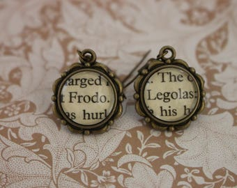 Frodo ~ Legolas Earrings ~ The Lord Of The Rings ~ J.R.R Tolkien ~