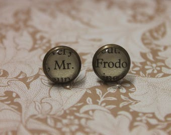 Mr Frodo Earrings ~ The Lord Of The Rings ~ J.R.R Tolkien ~