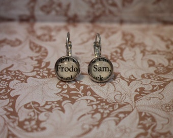 Frodo ~ Sam Earrings ~ The Lord Of The Rings ~ J.R.R Tolkien ~